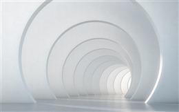 空间隧道设计效果图