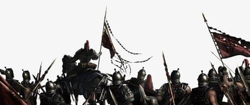 古代军队矢量图