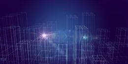 科技感城市建筑背景