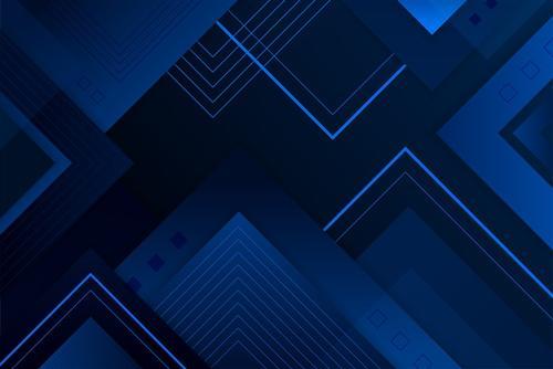 小清新几何背景墙