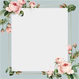 花卉碎花小清新背景图