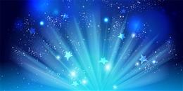 蓝色星空壁纸