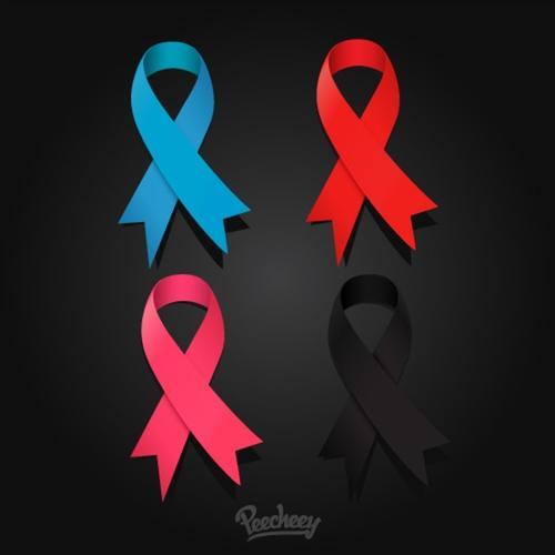 预防艾滋病标志