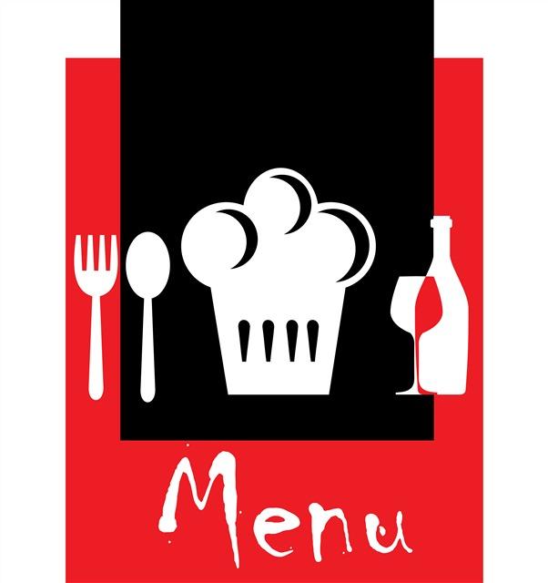 餐厅菜单元素图片
