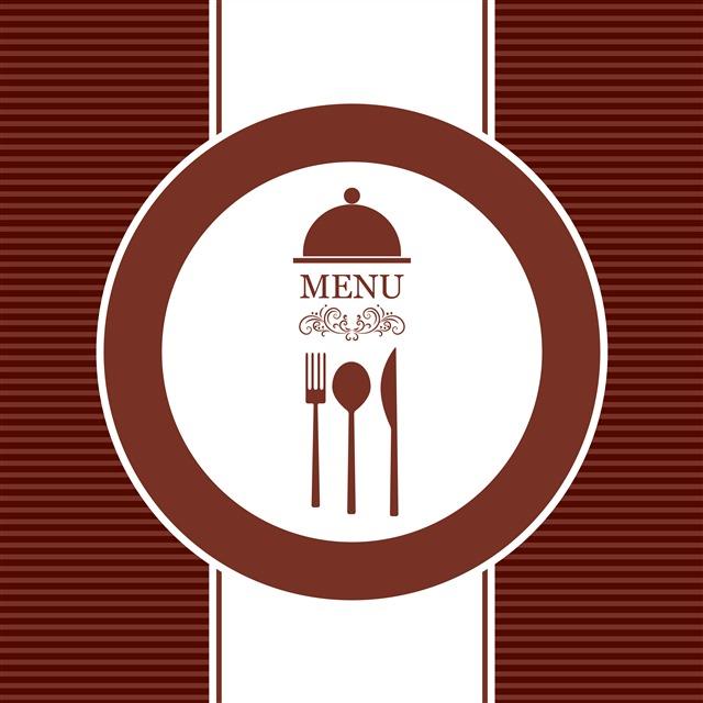 西式饭店菜单封面