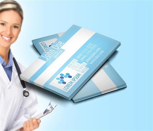医疗公司名片模板