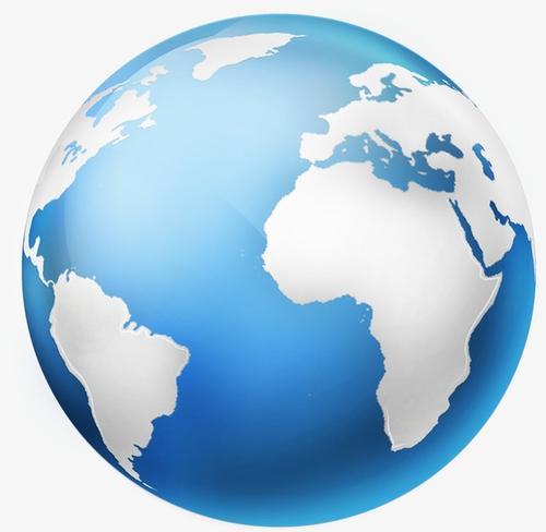 蓝色地球效果图