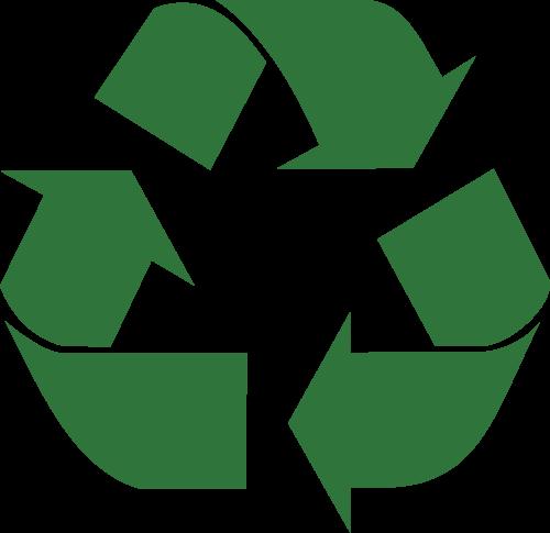 矢量绿色循环箭头图片