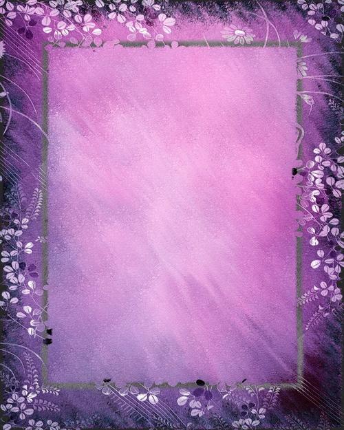 唯美紫色背景图片