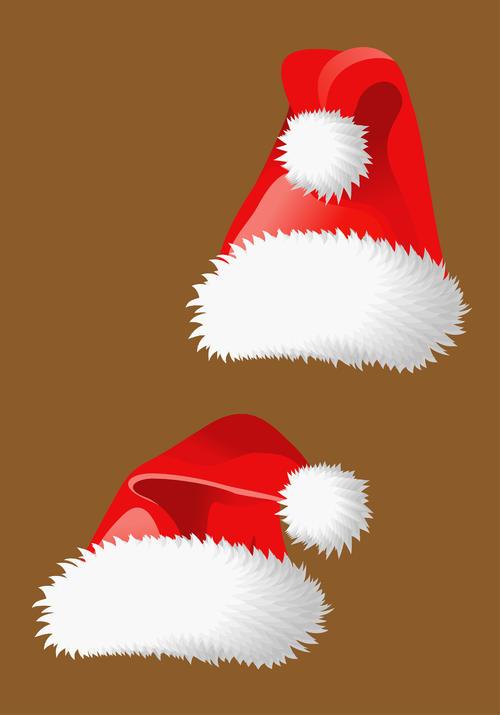 圣诞帽元素图片