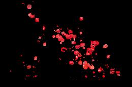 可爱樱花漂浮元素