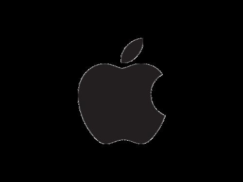 可复制的苹果logo图标