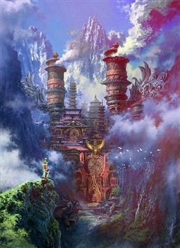 仙侠世界图片