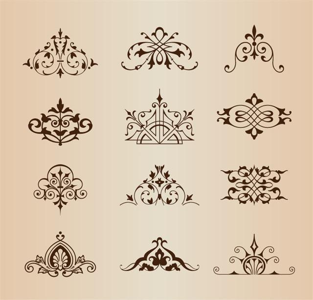 巴洛克风格装饰图案