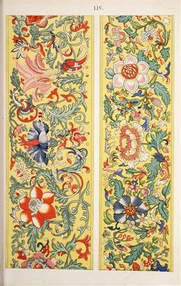 中国风花朵背景图