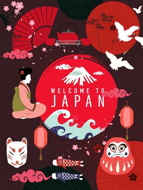 日本文化创意图片