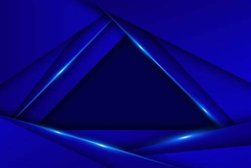 创意蓝色空间背景
