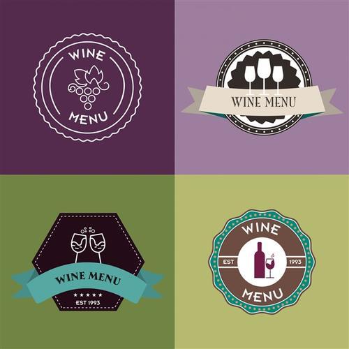 葡萄酒logo设计