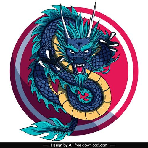 中国东方龙设计图