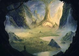 仙侠游戏场景图片