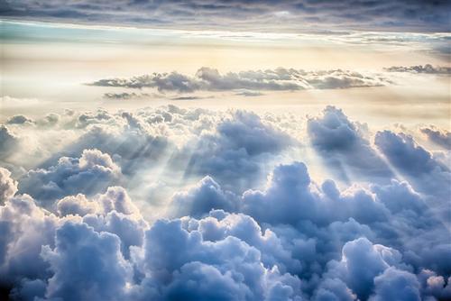 大气云层背景