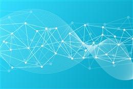 科技感线条商务背景图片