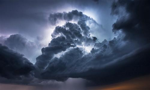乌云密布背景