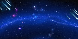 科技感星空背景图片