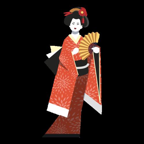 日本艺妓图片