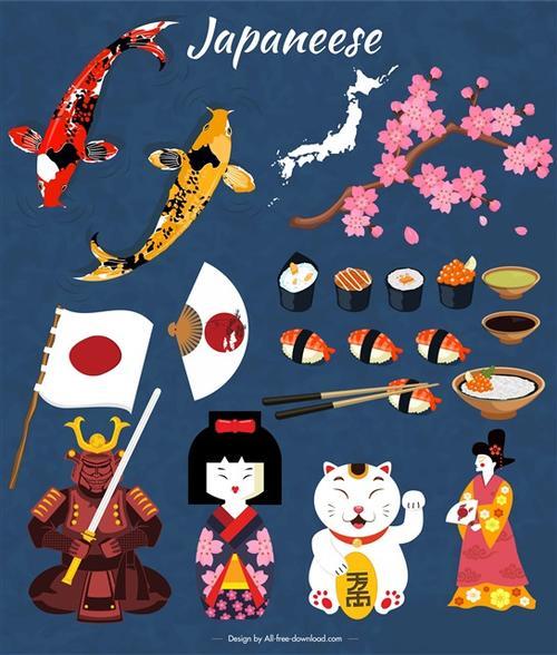 象征日本文化的图案