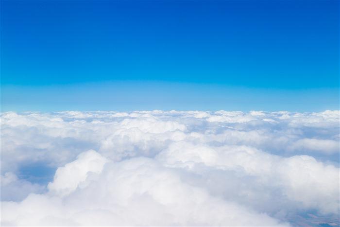 蓝天云层背景