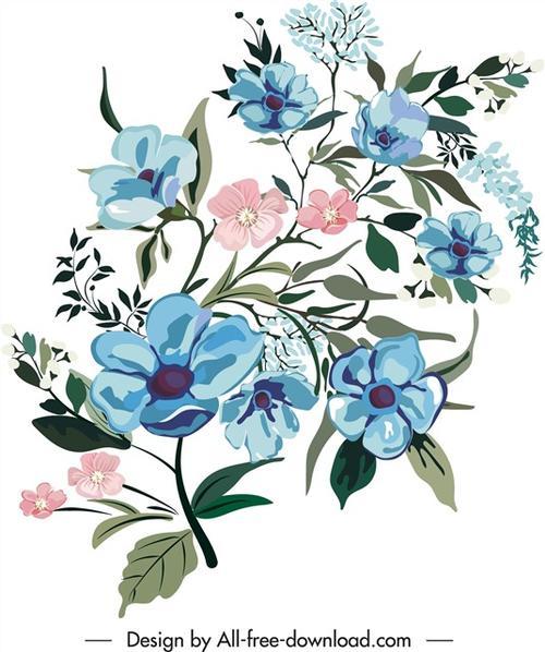 艺术花卉插画