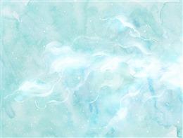 水彩云朵背景图片