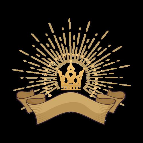 皇冠装饰图案