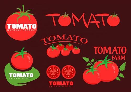 番茄logo矢量图标
