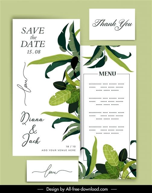 婚宴菜单VI设计