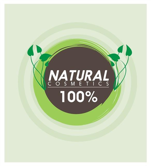 绿色纯天然logo