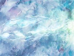 蓝青唯美云层背景图片