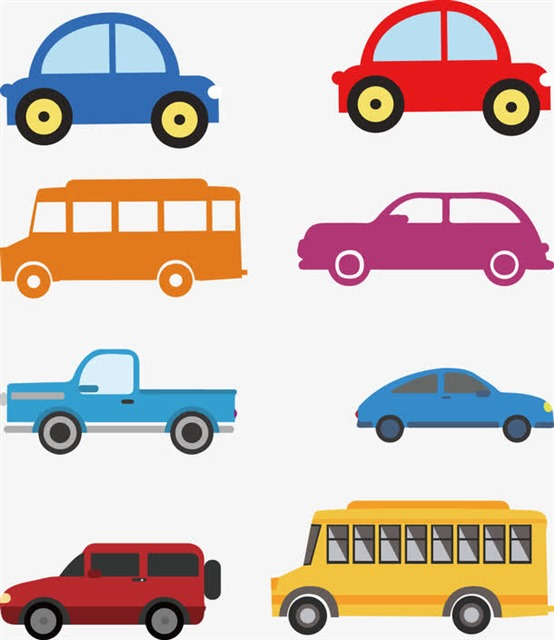交通车辆矢量图