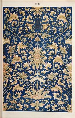 中国风古典花纹背景图