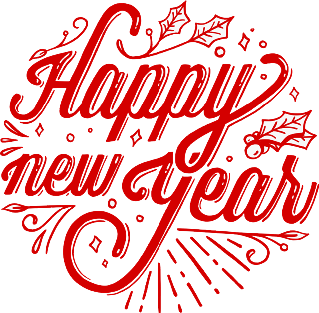 happy new year字体