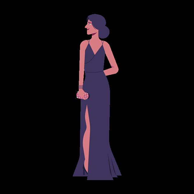女士晚礼服
