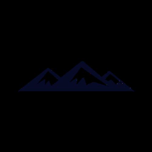 山脉简笔画
