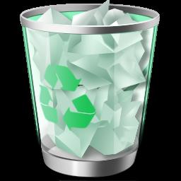 垃圾桶绿色环保标志图片