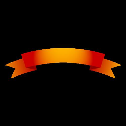 彩带标签边框装饰
