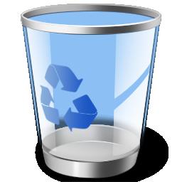 卡通可回收垃圾桶