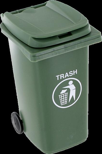 公共垃圾桶图片