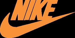 彩色耐克标志