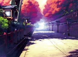 日本风景漫画图片