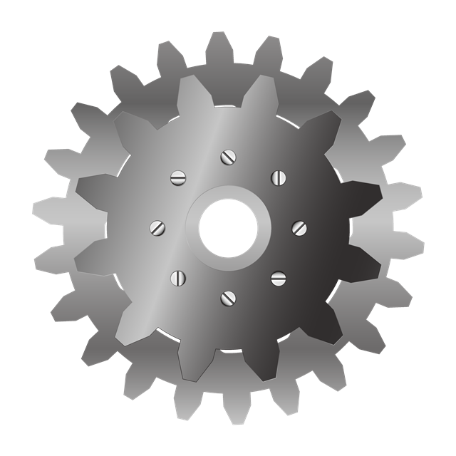 齿轮零件图矢量